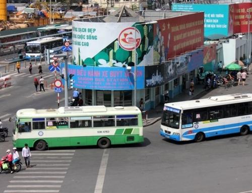 Quảng cáo trên xe bus cho Tiết Kiệm Nhóm