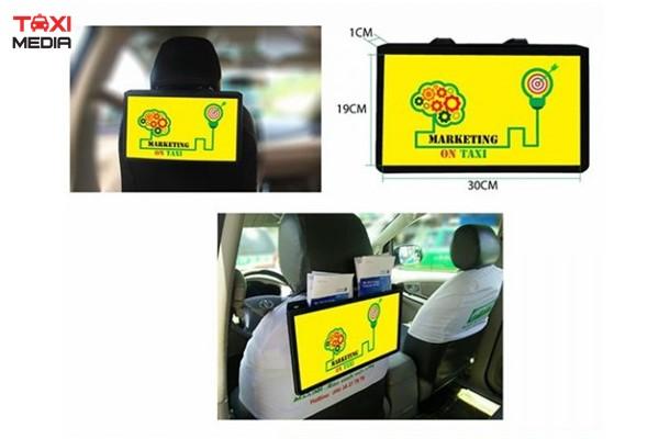 vị trí quảng cáo trên xe taxi Mai Linh