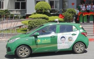 quảng cáo trên taxi tại bắc cạn
