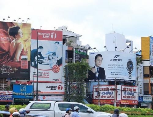 Lắp đặt biển quảng cáo ngoài trời trong nội thành đúng quy định