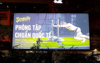 quảng cáo biển hộp đèn