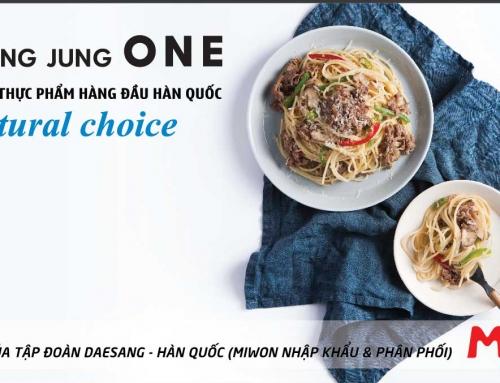 Quảng cáo Pano Gia vị Chung Jung One (Miwon) tại ngã tư Khuất Duy Tiến – Trần Duy Hưng