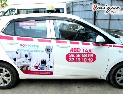 Công thức tạo nên một quảng cáo trên taxi hiệu quả