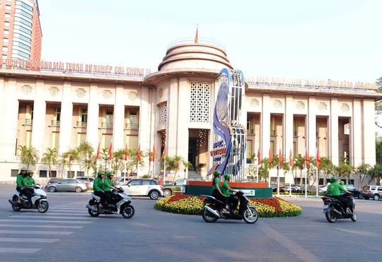 xe ôm công nghệ Mai Linh