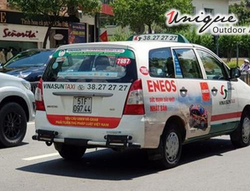 Ưu điểm tuyệt vời khiến bạn muốn quảng cáo trên taxi ngay lập tức!