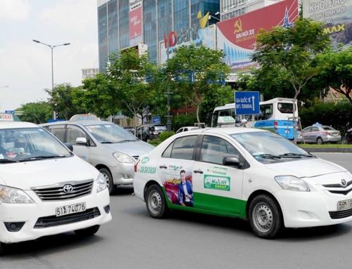 Ưu điểm nổi bật của hình thức dán quảng cáo trên cửa xe taxi