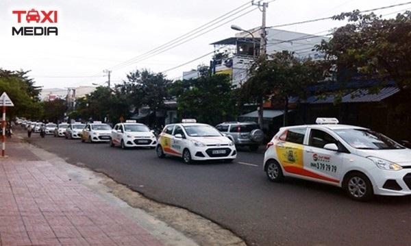 Quảng cáo trên Sun Taxi tại các tỉnh miền Trung, Tây Nguyên