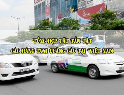 22+ Hãng taxi dán quảng cáo hiệu quả nhất Việt Nam