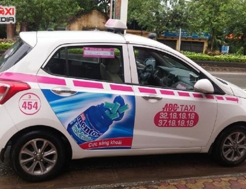 Quảng cáo trên taxi ABC – gắn kết thương hiệu với khách hàng