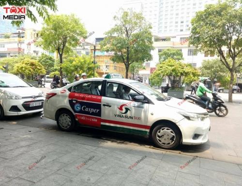 Điều hòa Thái Lan Casper và chiến dịch quảng cáo trên taxi cực khủng