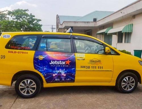 Truyền thông thương hiệu với hình thức quảng cáo trên Vina Taxi