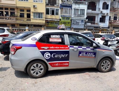 Quảng cáo trên VIC taxi – Hãy để thương hiệu của bạn được tỏa sáng!