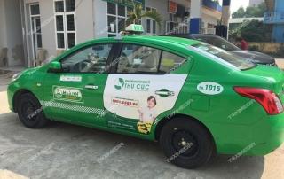quảng cáo trên taxi tại Thanh Hóa