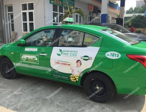 Tiềm năng lớn từ quảng cáo trên taxi tại tỉnh Thanh Hóa