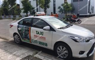 quảng cáo trên taxi tại kiên giang