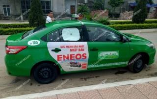 quaảng cáo trên taxi tại Vĩnh Phúc