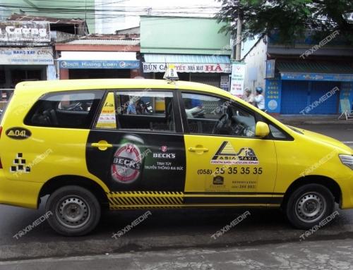 Taxi Asia – Lựa chọn chất lượng cho doanh nghiệp có nhu cầu quảng cáo