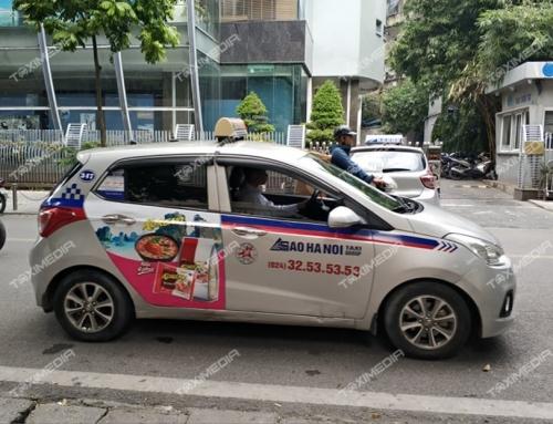 Quảng cáo trên taxi Sao Hà Nội – Hiệu quả truyền thông tuyệt vời!