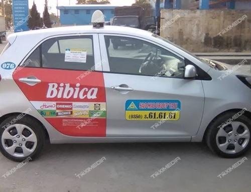 Taxi Sao Mai – Ngôi sao mới trong lĩnh vực quảng cáo trên taxi