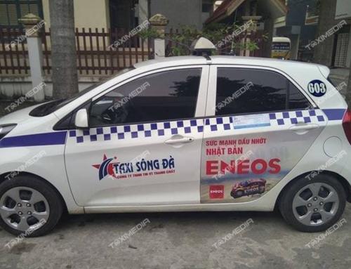 Quảng cáo trên taxi Sông Đà tại Hòa Bình và các tỉnh lân cận