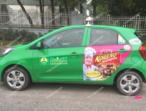 Hiệu quả vượt trội của hình thức quảng cáo trên xe taxi tại Huế