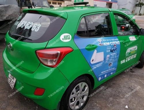 Ưu điểm tuyệt vời từ hình thức quảng cáo trên xe taxi tại Ninh Bình