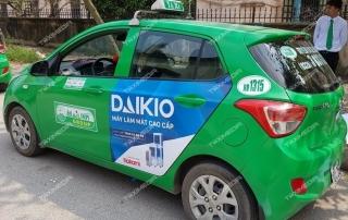 quảng cáo trên taxi tại Sơn La