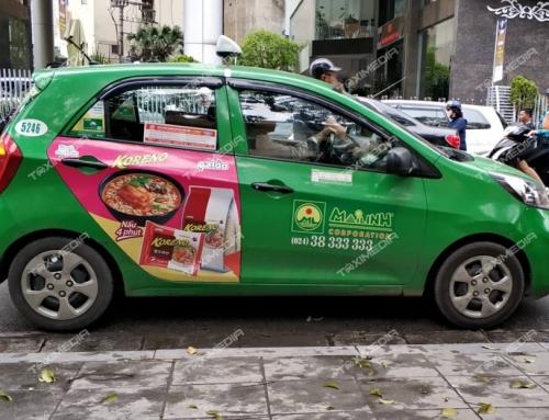 Nâng tầm thương hiệu với quảng cáo trên taxi tại Tuyên Quang