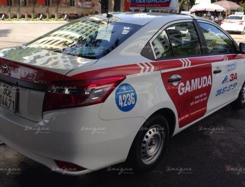 Điểm danh những ngành hàng chạy quảng cáo trên xe taxi nhiều nhất