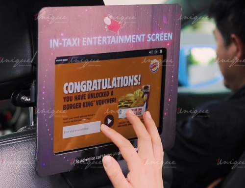 Quảng cáo màn hình Lcd trên taxi – Sáng tạo và hiệu quả