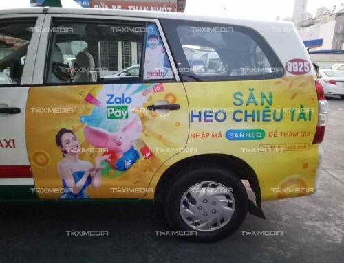 Ví ZaloPay và chiến dịch quảng cáo tràn đuôi taxi dịp Tết 2019