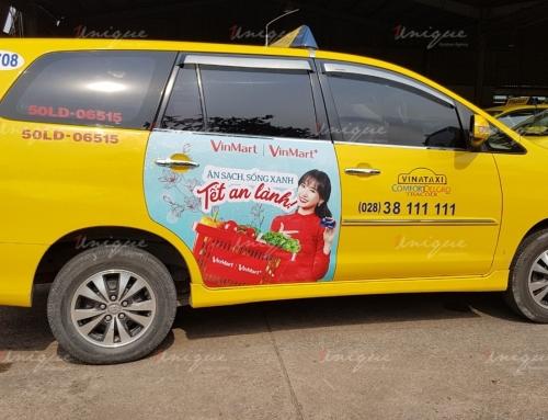 Quảng cáo trên taxi vào dịp Tết – Một hình thức truyền thông lí tưởng