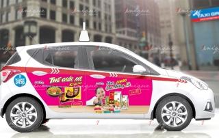 quảng cáo 4 cánh taxi group
