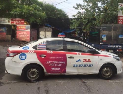 Quảng cáo trên taxi liệu có phù hợp với doanh nghiệp vừa và nhỏ?
