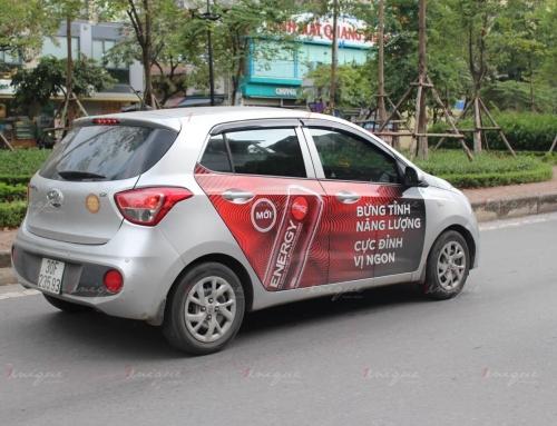 Nhãn hàng có nên lựa chọn quảng cáo trên taxi gia đình?