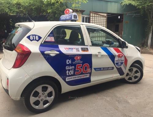 Những lợi thế khi lựa chọn quảng cáo trên Liên minh taxi Việt