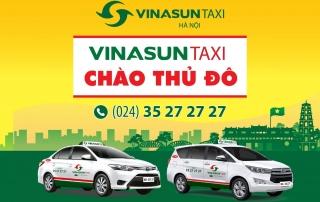 taxi vinasun mở chi nhánh tại hà nội