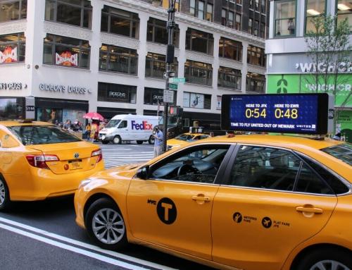 Campaign quảng cáo taxi siêu ấn tượng của United Airlines
