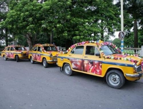 Đám cưới trên dàn xe taxi siêu độc đáo của Star Jalsha tại Ấn Độ