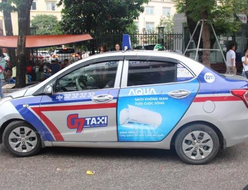 Quảng cáo trên xe taxi trong mùa dịch Corona, có nên không?