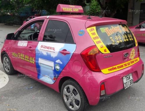 Quảng cáo trên taxi tại Cần Thơ – Độc đáo và hiệu quả!