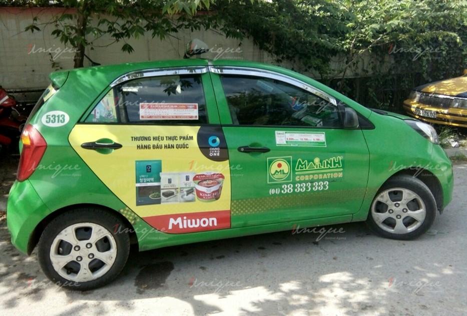 quảng cáo taxi tại đà lạt