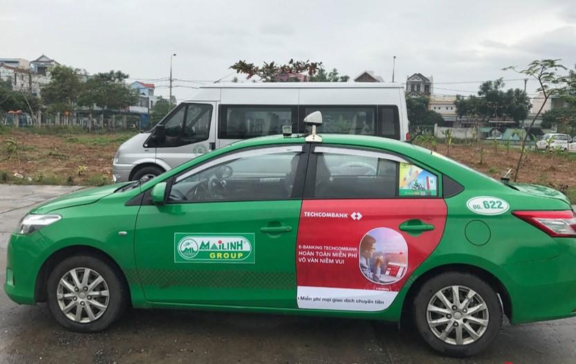 quảng cáo trên taxi hiệu quả