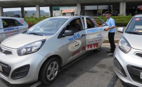 quảng cáo taxi phú quốc