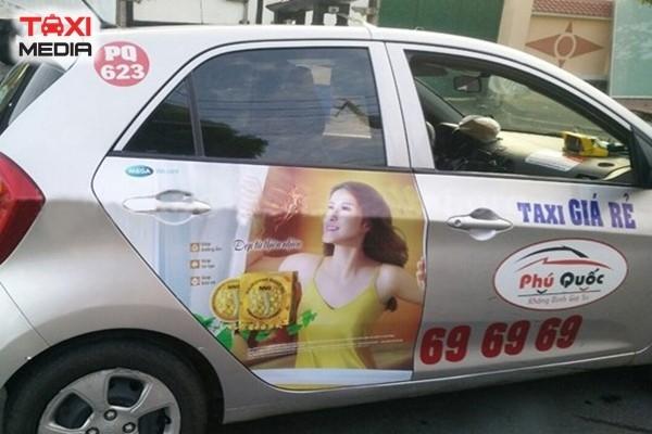 Quảng cáo trên taxi Phú Quốc tại Kiên Giang
