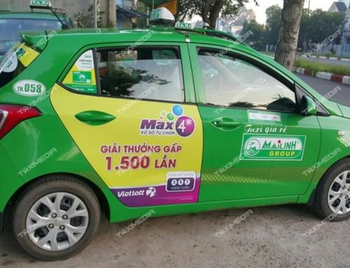 Hiệu quả tuyệt vời đến từ chiến dịch quảng cáo trên taxi tại Tây Ninh