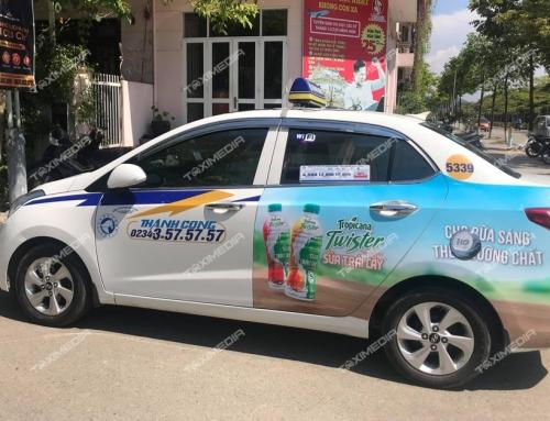 Quảng cáo trên xe taxi tại Hà Nam thật hiệu quả với ngân sách tiết kiệm