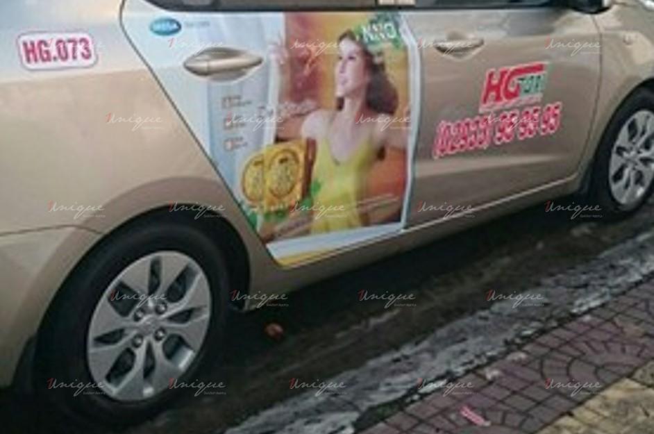 quảng cáo taxi tại hậu giang