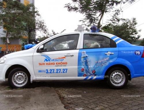 Quảng cáo trên taxi Airport Đà Nẵng thu hút khách hàng tiềm năng