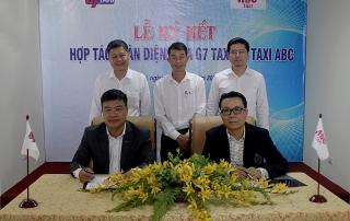 Taxi ABC gia nhập Liên minh taxi G7